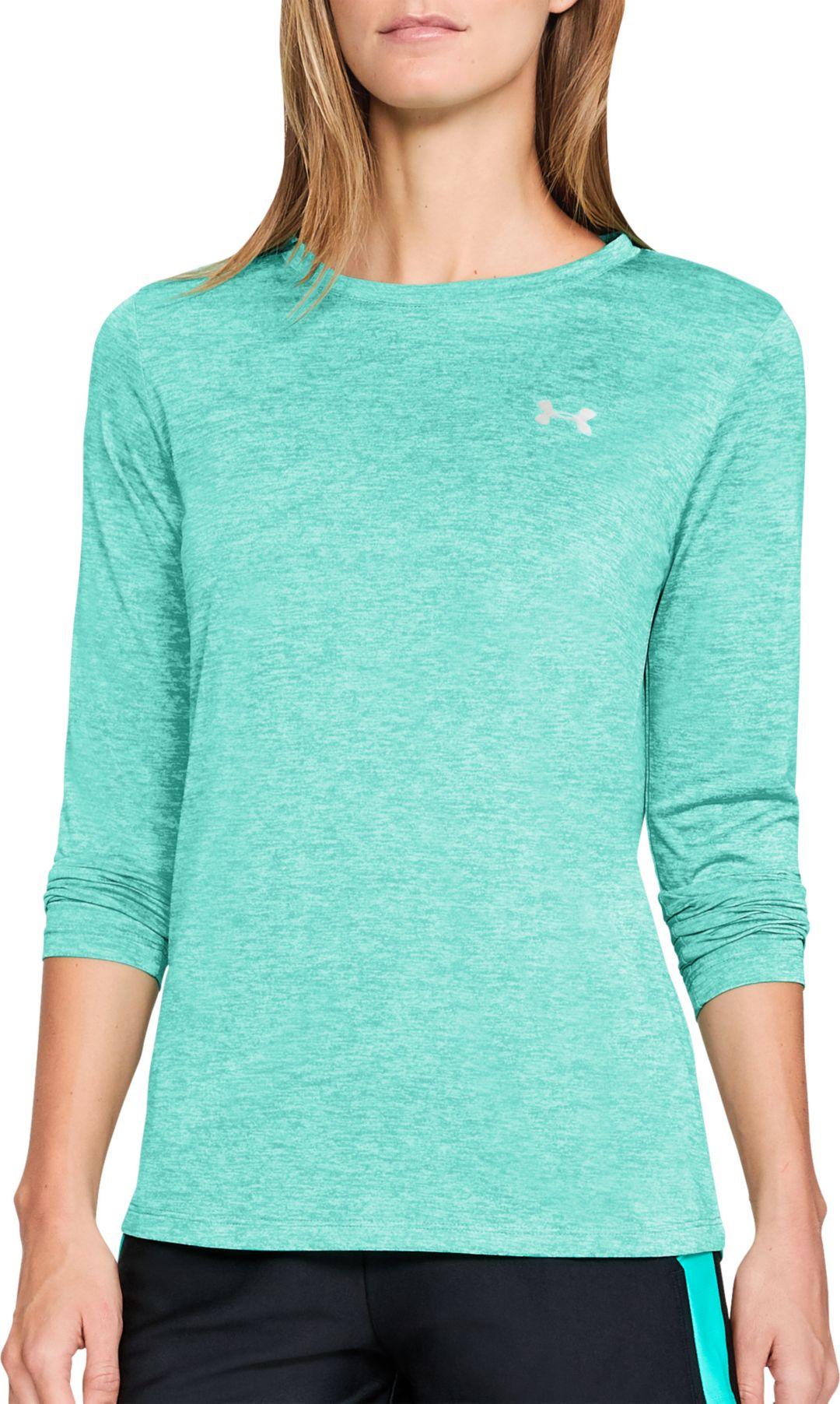 77a448fae1 Under Armour Women's Tech Twist Print Long Sleeve Shirt