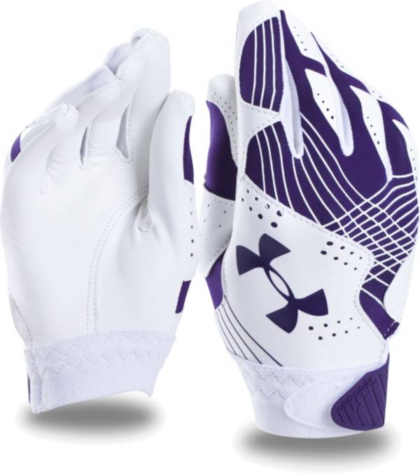 Under Armour Girls' Radar Fastpitch Batting Gloves product image
