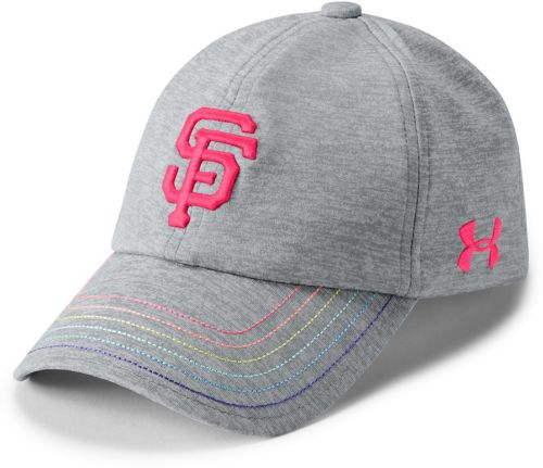 finest selection 22615 2fa5c ... spain under armour youth girls san francisco giants twisted renegade adjustable  hat 8dd0c 6356d