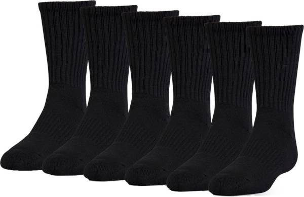 Under Armour Kid's Charged Cotton 2.0 Crew Socks - 6 Pack product image