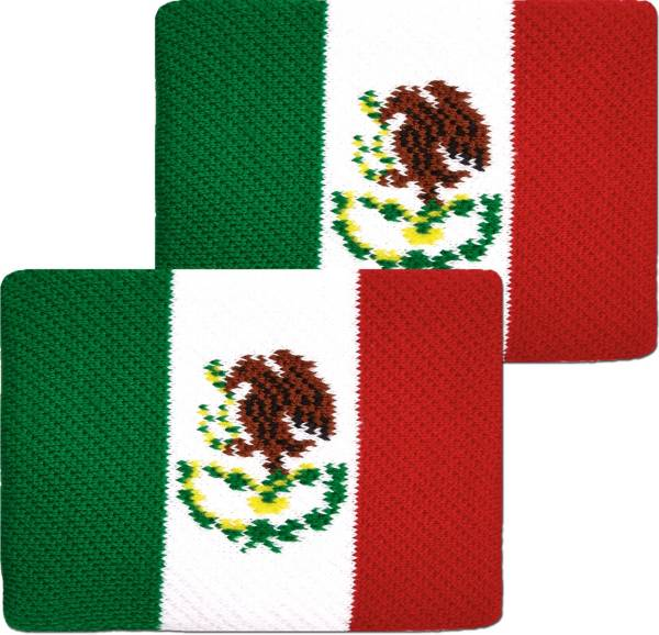 Unique Sports Mexico Flag Soccer Wristbands product image
