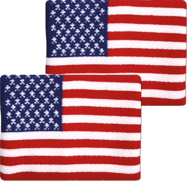 Unique Sports USA Flag Soccer Wristbands product image