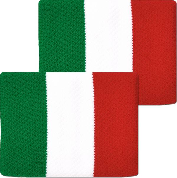 Unique Sports Italy Flag Soccer Wristbands product image