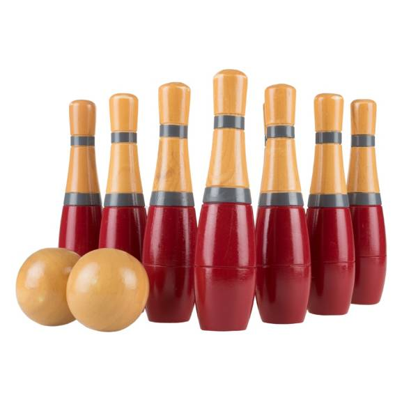 Hey! Play! Wooden Lawn Bowling Game product image