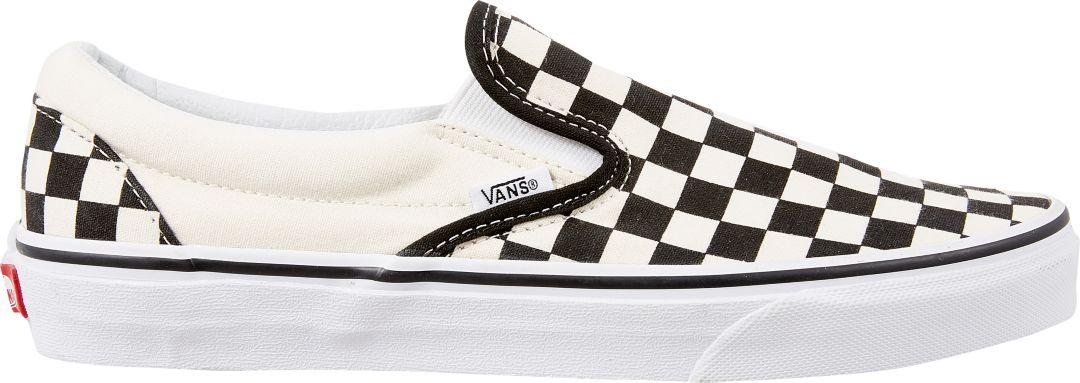 14364cd76e379 Vans Men's Checkerboard Slip-On Shoes