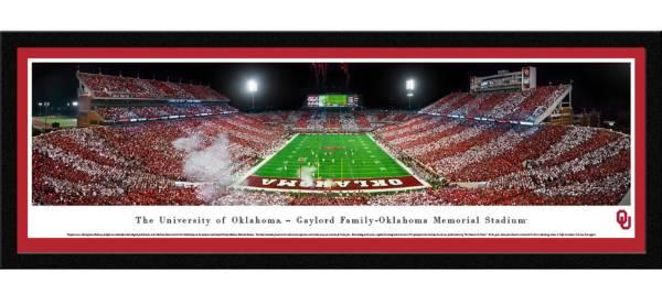 Blakeway Panoramas Oklahoma Sooners Framed Panorama Poster product image
