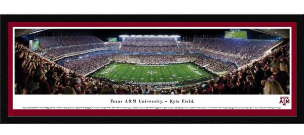 Blakeway Panoramas Texas A&M Aggies Framed Panorama Poster product image