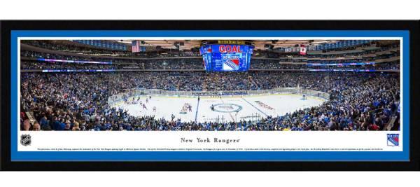 Blakeway Panoramas New York Rangers Framed Panorama Poster product image