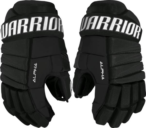 Warrior Junior Alpha QX3 Ice Hockey Gloves product image