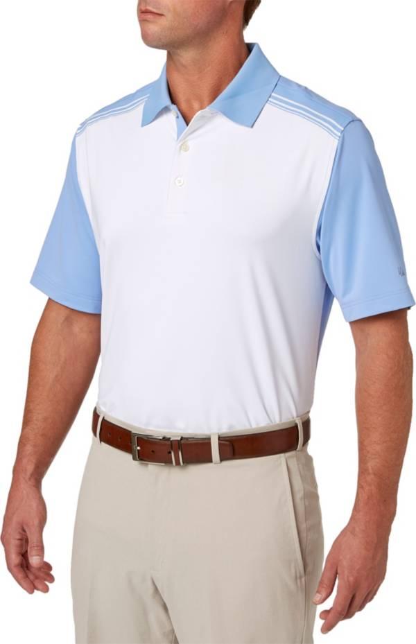 Walter Hagen Men's Solid Colorblock Golf Polo product image