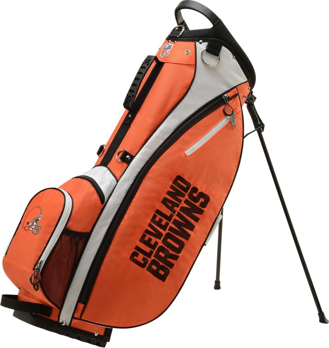 cheap for discount 0f586 86099 Wilson Cleveland Browns Stand Golf Bag