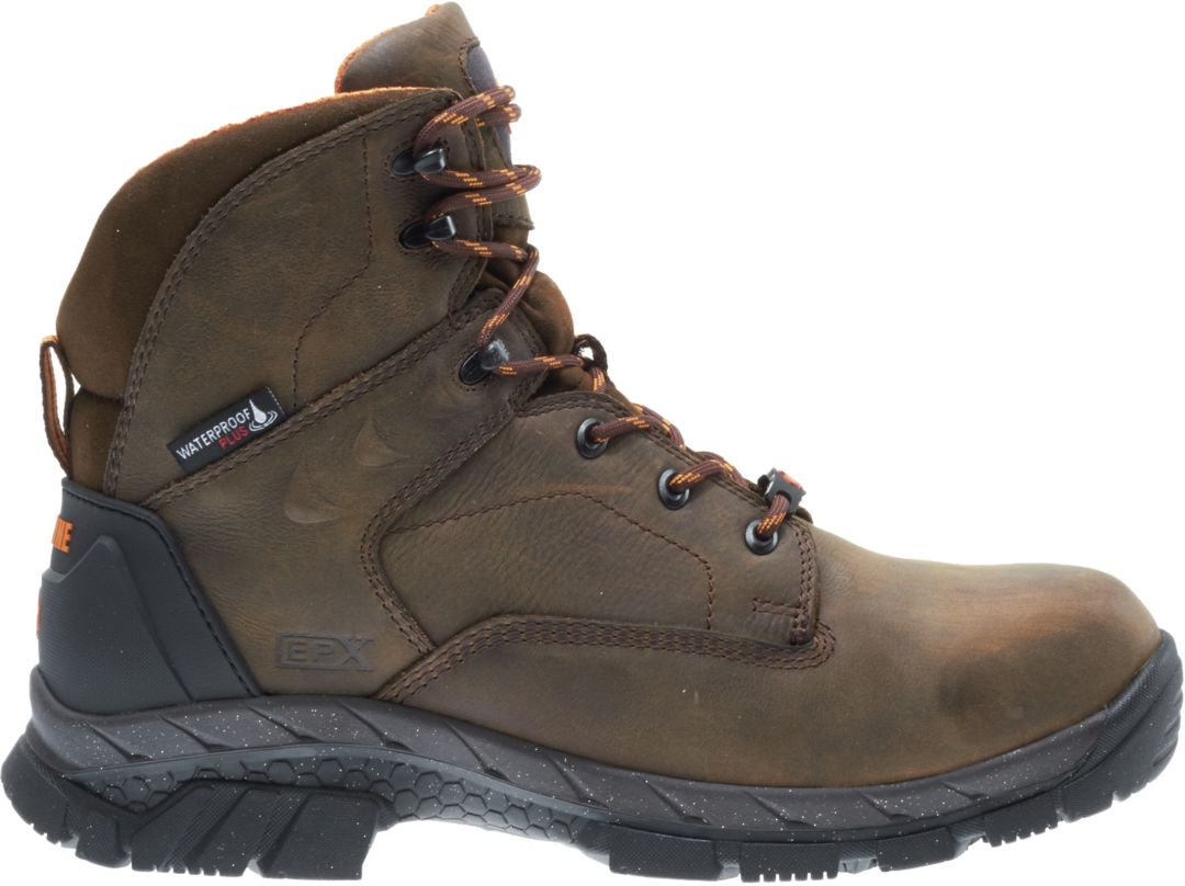 15768d7153a Wolverine Men's Glacier Ice 6'' 400g Waterproof Composite Toe Work Boots