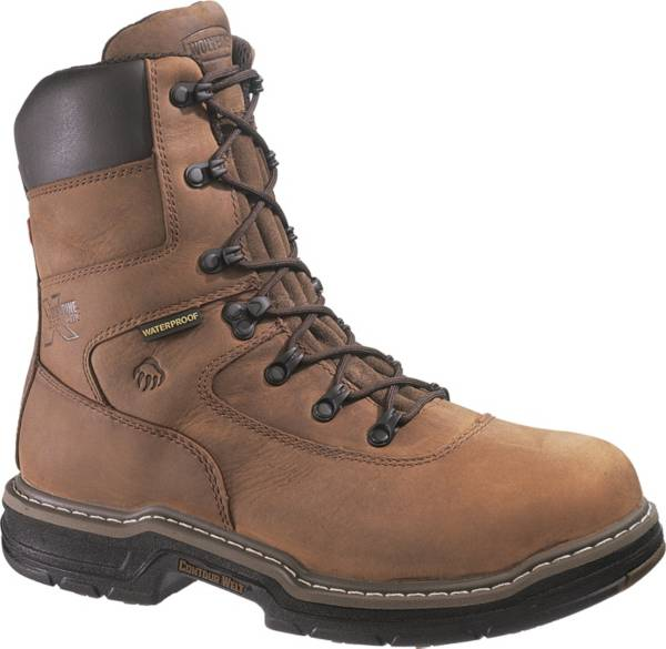 "Wolverine Men's Marauder 8"" 400g Waterproof Steel Toe Work Boots product image"
