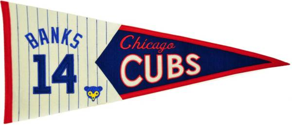 Chicago Cubs Ernie Banks Legends Pennant product image