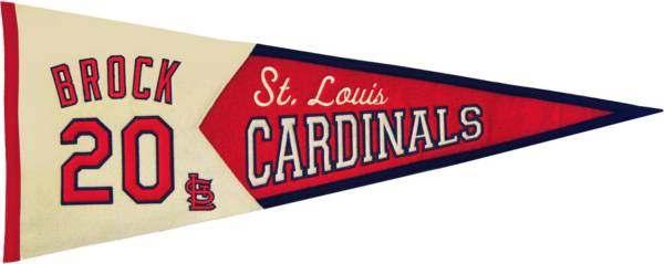 St. Louis Cardinals Lou Brock Legends Pennant product image