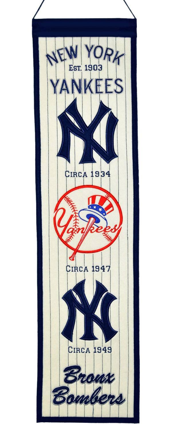 Winning Streak New York Yankees Heritage Banner product image