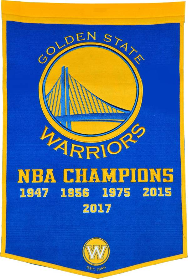 Winning Streak 2017 NBA Finals Champions Golden State Warriors Dynasty Banner product image