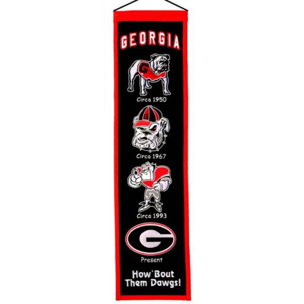 Winning Streak Georgia Bulldogs Heritage Banner product image