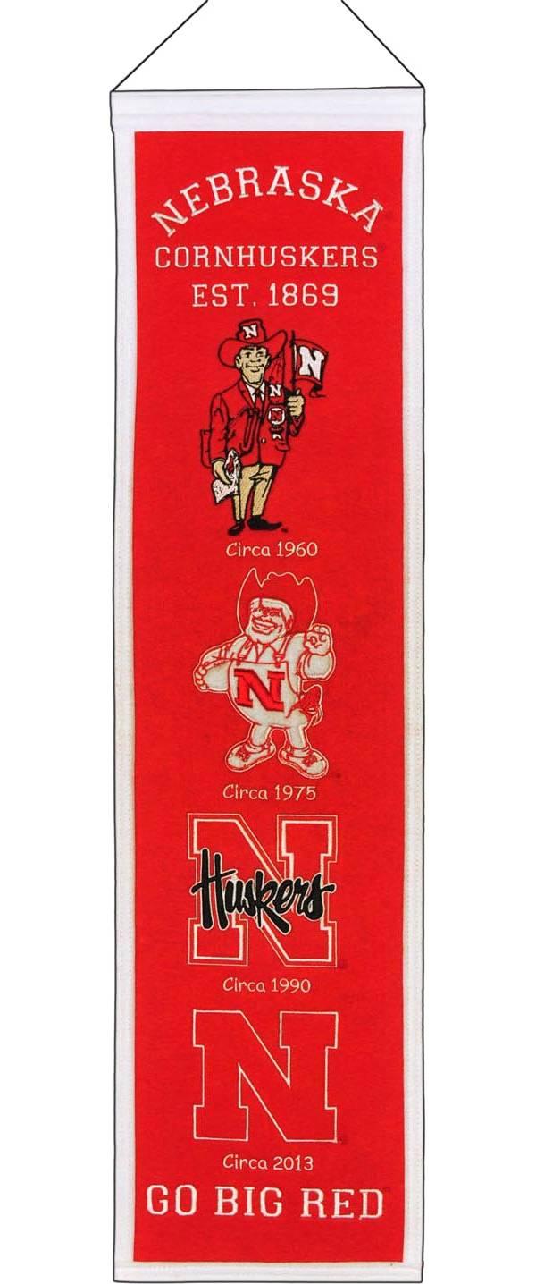 Winning Streak Nebraska Cornhuskers Heritage Banner product image