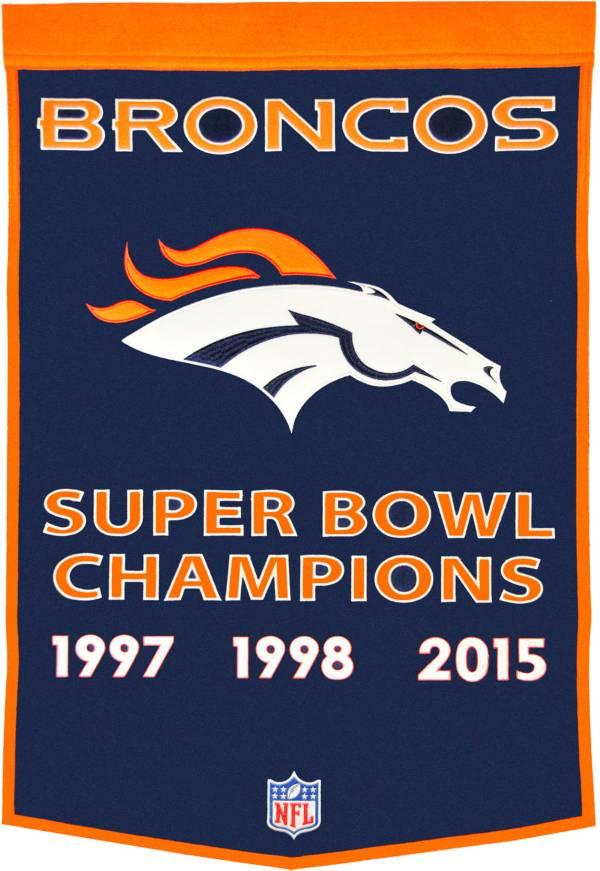 Denver Broncos Dynasty Banner product image
