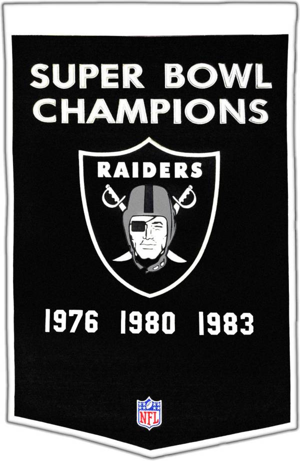 Winning Streak Las Vegas Raiders Dynasty Banner product image