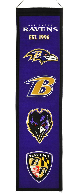 Winning Streak Baltimore Ravens Heritage Banner product image