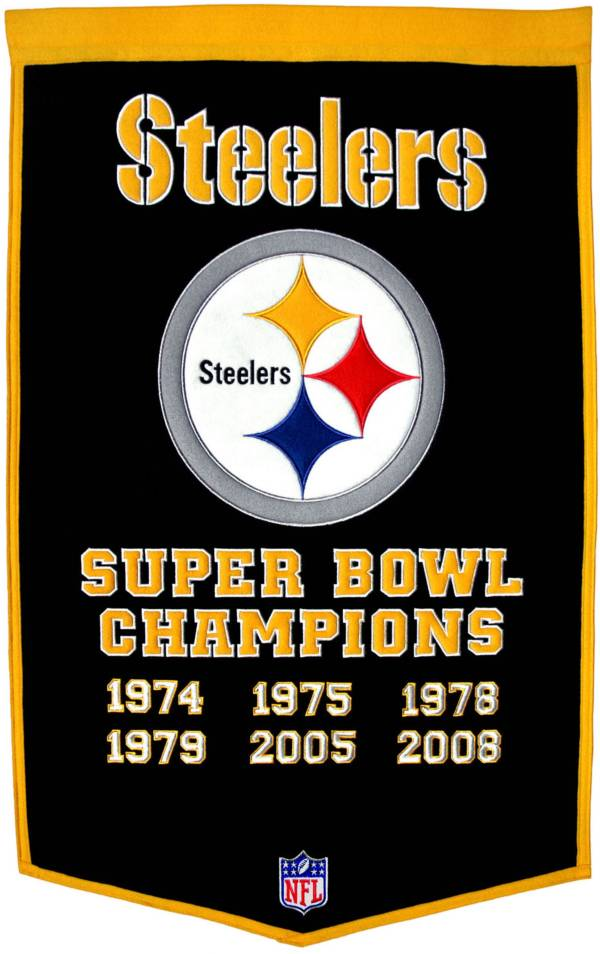 Winning Streak Pittsburgh Steelers Dynasty Banner product image