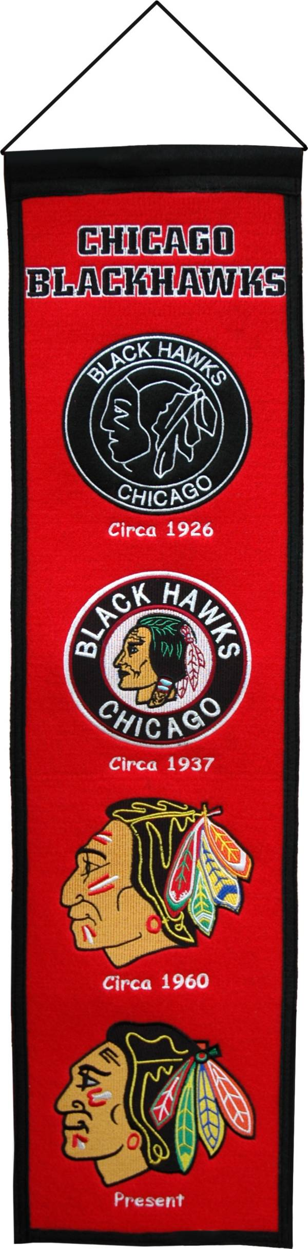 Winning Streak Chicago Blackhawks Heritage Banner product image