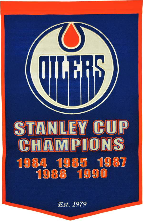Edmonton Oilers Dynasty Banner product image