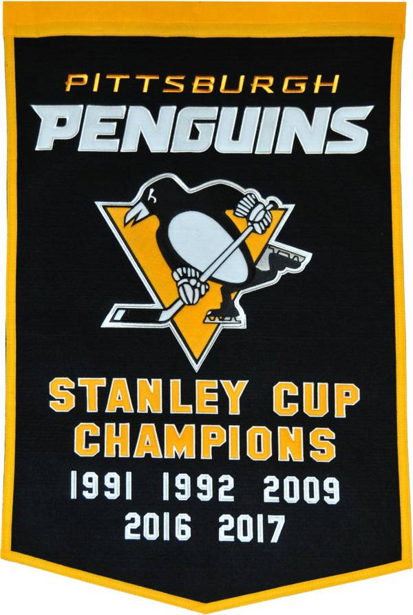 2017 Stanley Cup Champions Pittsburgh Penguins Dynasty Banner product image