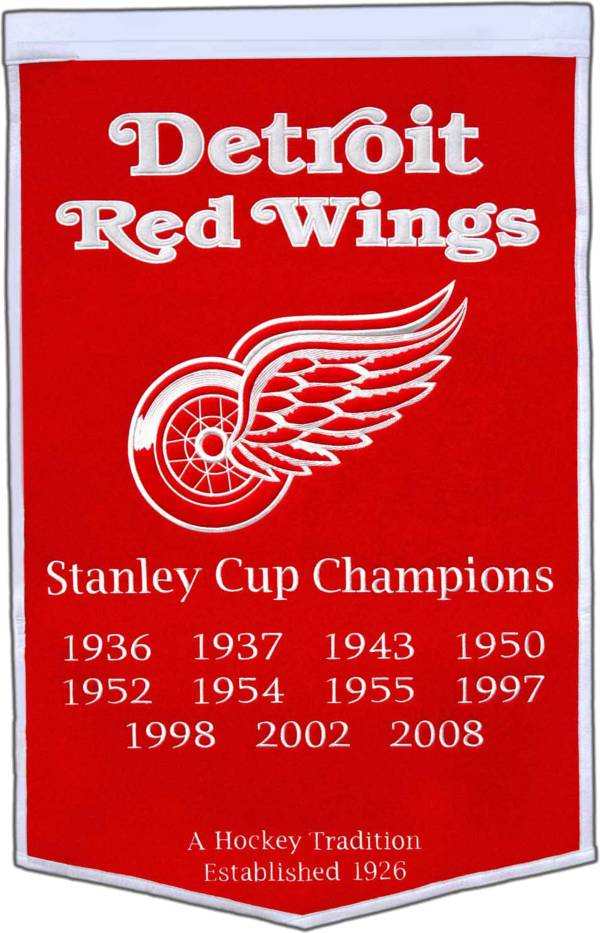 Detroit Red Wings Dynasty Banner product image