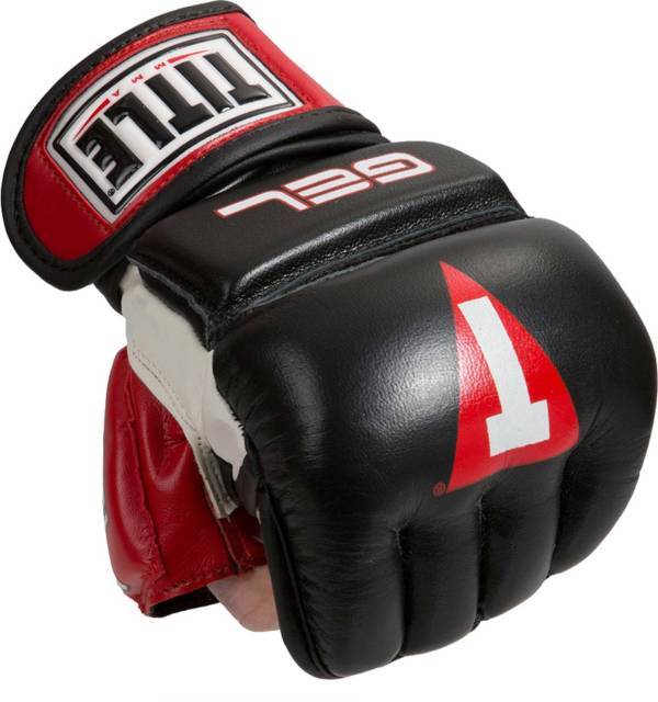 TITLE Boxing Performance Gel MMA Bag Gloves product image