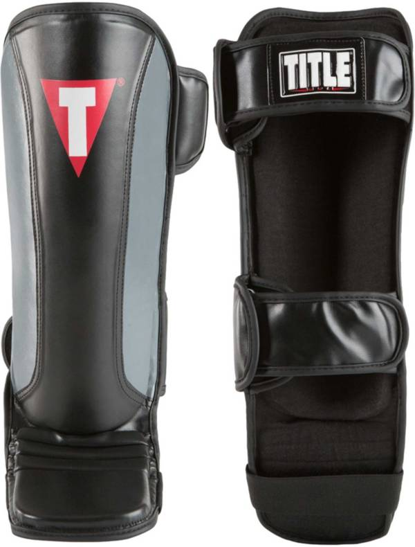 TITLE Boxing MMA Super Sleek Stand-Up Shin Guards product image