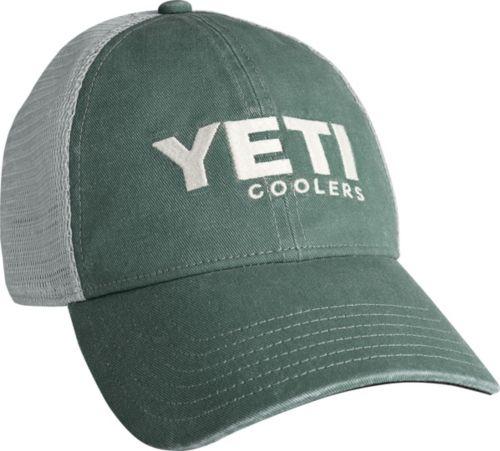 fa7de0f19 YETI Men s Washed Low Profile Trucker Cap