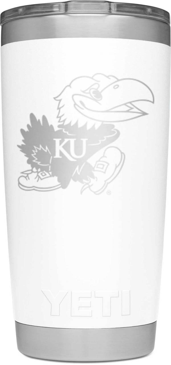 YETI Kansas Jayhawks 20 oz. Rambler Tumbler with MagSlider Lid product image