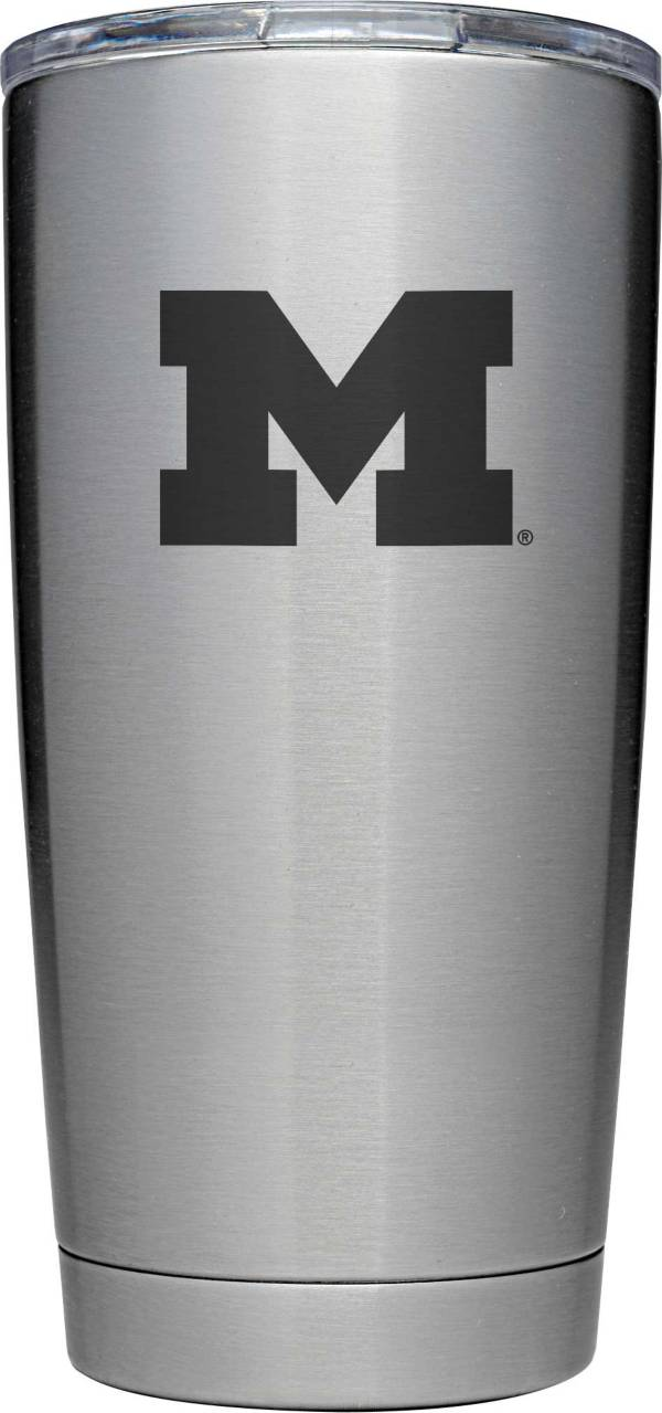 YETI Michigan Wolverines 20 oz. Rambler Tumbler with MagSlider Lid product image