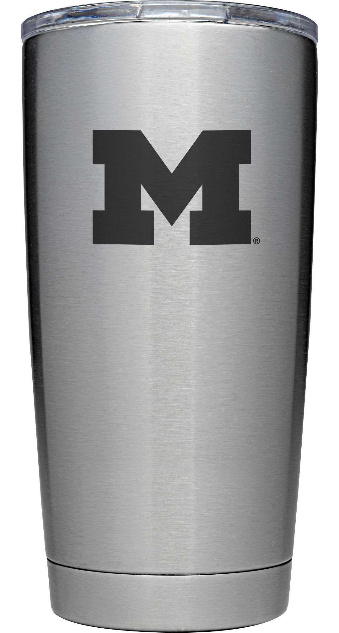 4469f4b0962 YETI Michigan Wolverines 20 oz. Rambler Tumbler with MagSlider Lid