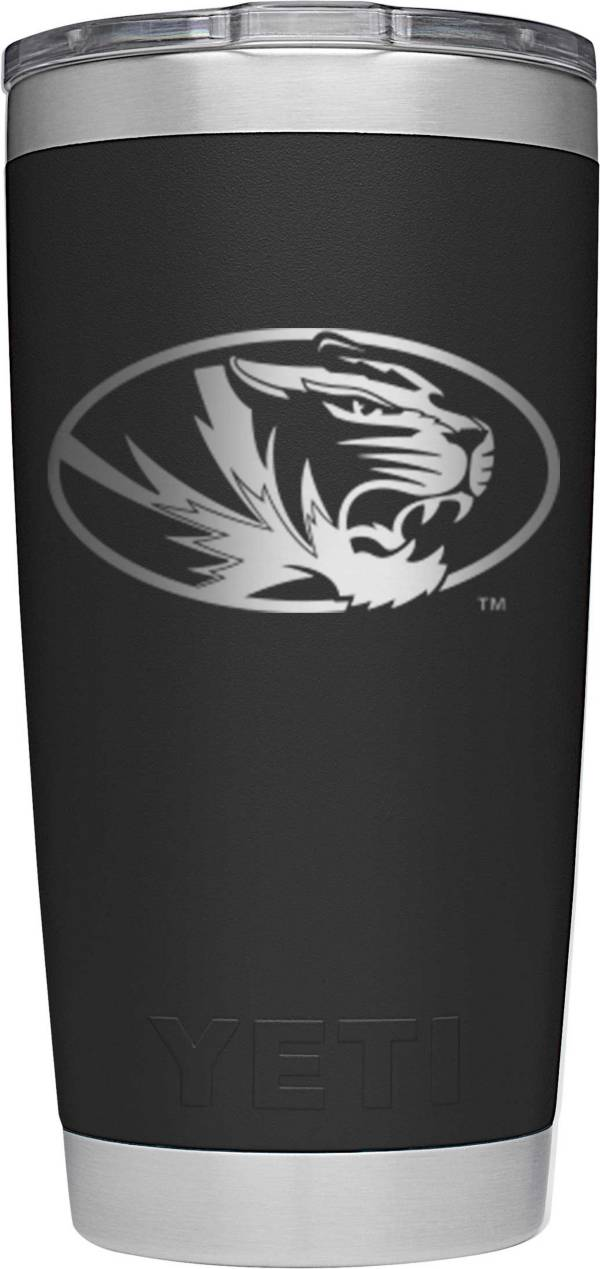 YETI Missouri Tigers 20 oz. Rambler Tumbler with MagSlider Lid product image
