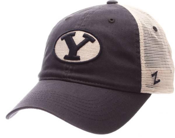 Zephyr Men's BYU Cougars Blue/White University Adjustable Hat product image