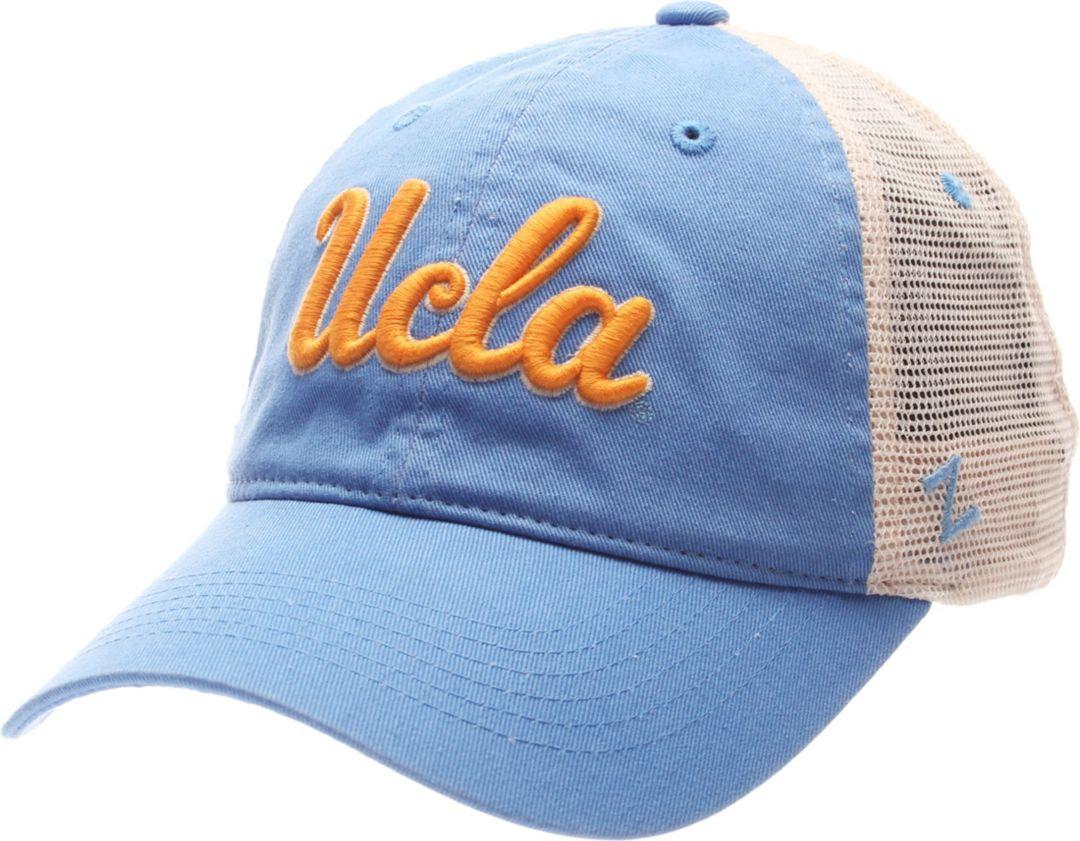 finest selection f9142 01a87 Zephyr Men s UCLA Bruins True Blue White University Adjustable Hat.  noImageFound. Previous