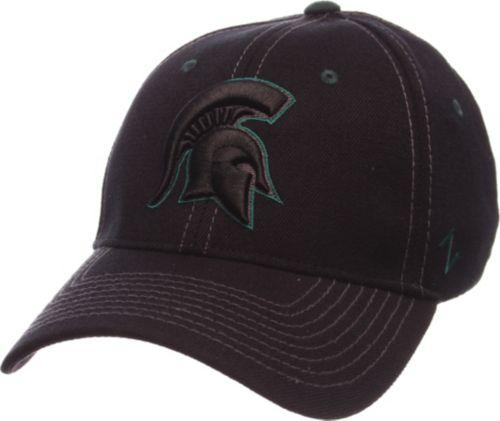 quality design 2f939 3d62f Zephyr Men s Michigan State Spartans Black Element ZClassic Flexfit Hat.  noImageFound. Previous