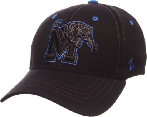 Zephyr Men s Memphis Tigers Black Element ZClassic Flexfit Hat ... 7e244a13402