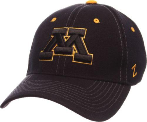 Zephyr Men s Minnesota Golden Gophers Black Element ZClassic Flexfit Hat.  noImageFound. Previous 54589f4197b6