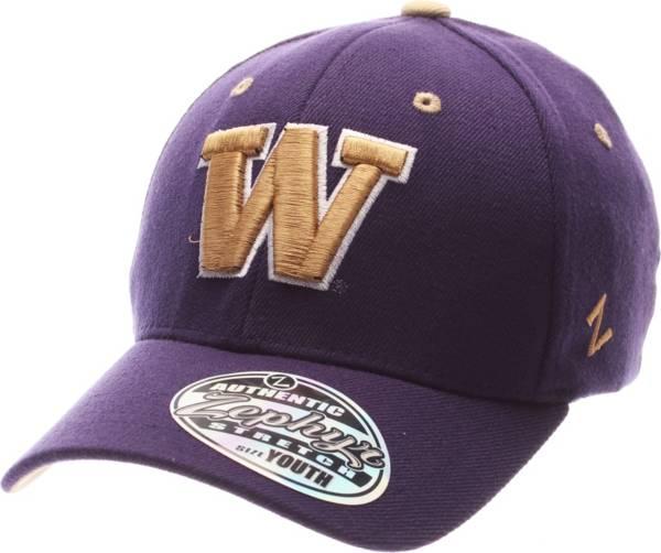 Zephyr Youth Washington Huskies Purple Z-Wool Flexfit Hat product image