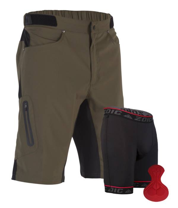 ZOIC Men's Ether Cycling Shorts with Essential Liner product image