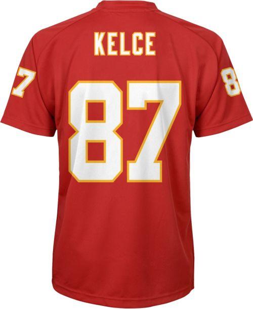 2eb222268 NFL Team Apparel Youth Kansas City Chiefs Travis Kelce  87 ...