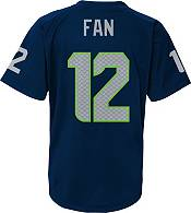 NFL Team Apparel Youth Seattle Seahawks Fan #12 Navy T-Shirt product image