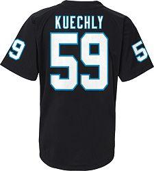 7032e9be NFL Team Apparel Youth Carolina Panthers Luke Kuechly #59 Black T-Shirt  alternate 2