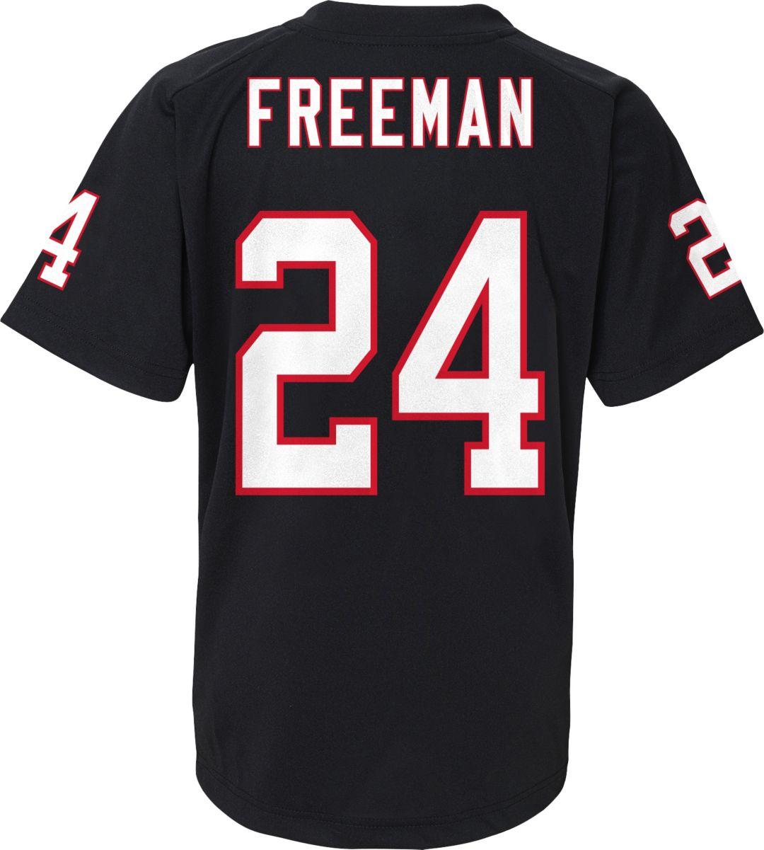 separation shoes 7edfa 4a1b6 NFL Team Apparel Youth Atlanta Falcons Devonta Freeman #24 Black T-Shirt