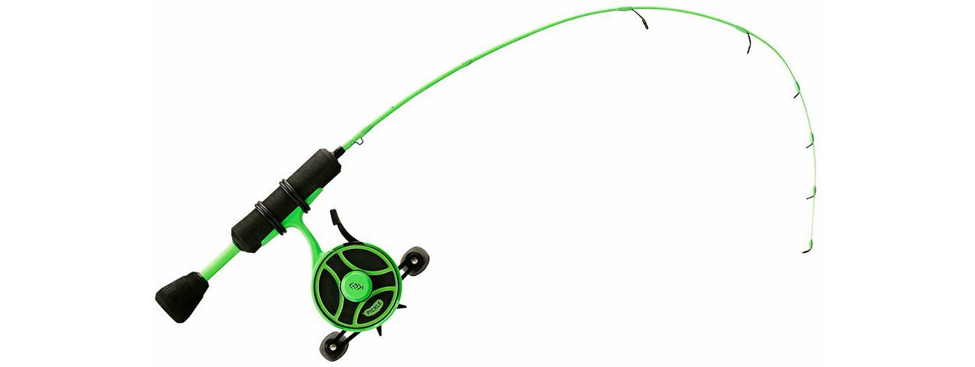 13 Fishing Radioactive Pickle Ice Fishing Combo 1